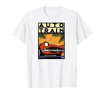 Amazon com: Auto Train (DC to Orlando) T-Shirt: Clothing