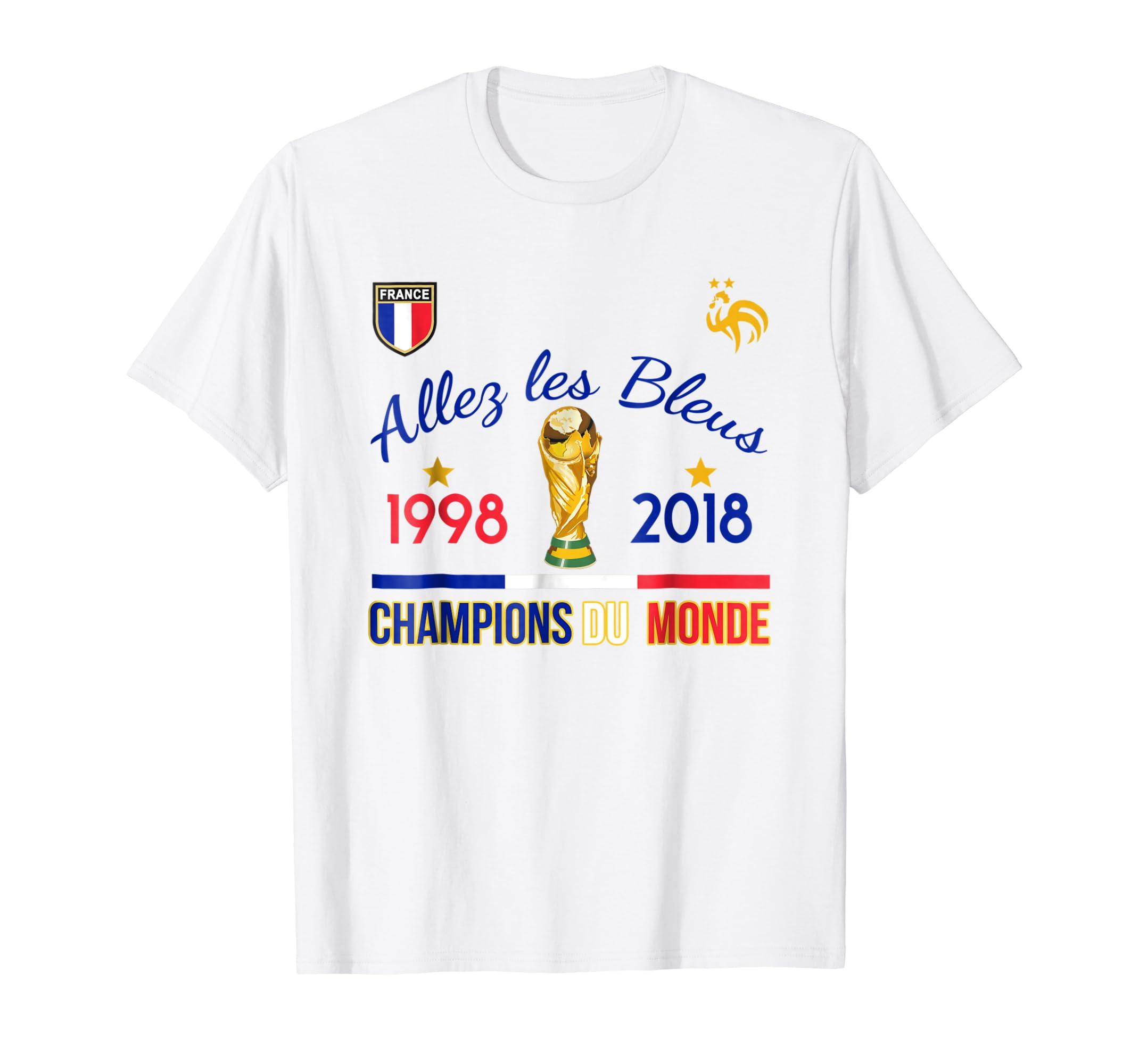Amazon Com Allez Les Bleus France Champions Du Monde 1998 2018