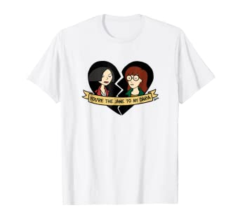 8806da8d94d Amazon.com  Daria The Jane To My Daria Graphic T-Shirt  Clothing