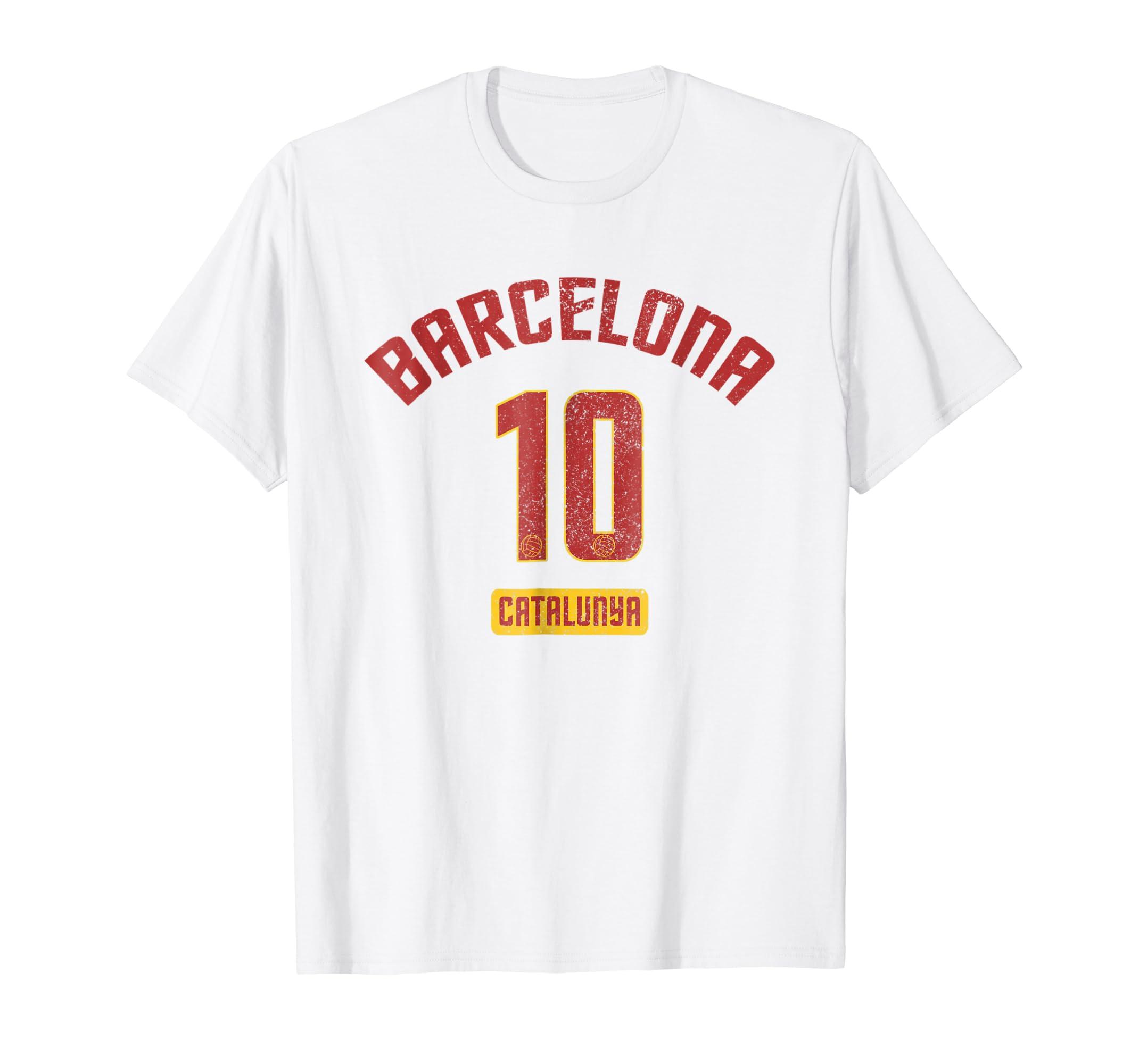 a77e311ebbaba1 Amazon.com  Barcelona Fan T-Shirt Forca Barca Fan Tee Shirt  Clothing