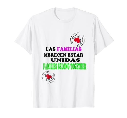 LAS FAMILIAS MERECEN ESTAR UNIDAS CAMISETAS FAMILY Tshirt