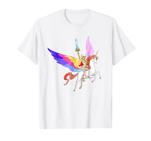 458ccd02b18 Amazon.com  DreamWorks She-Ra and Swift Wind T-Shirt  Clothing