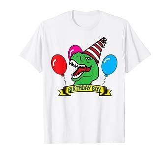 Amazon DINO Birthday Boy T Shirt
