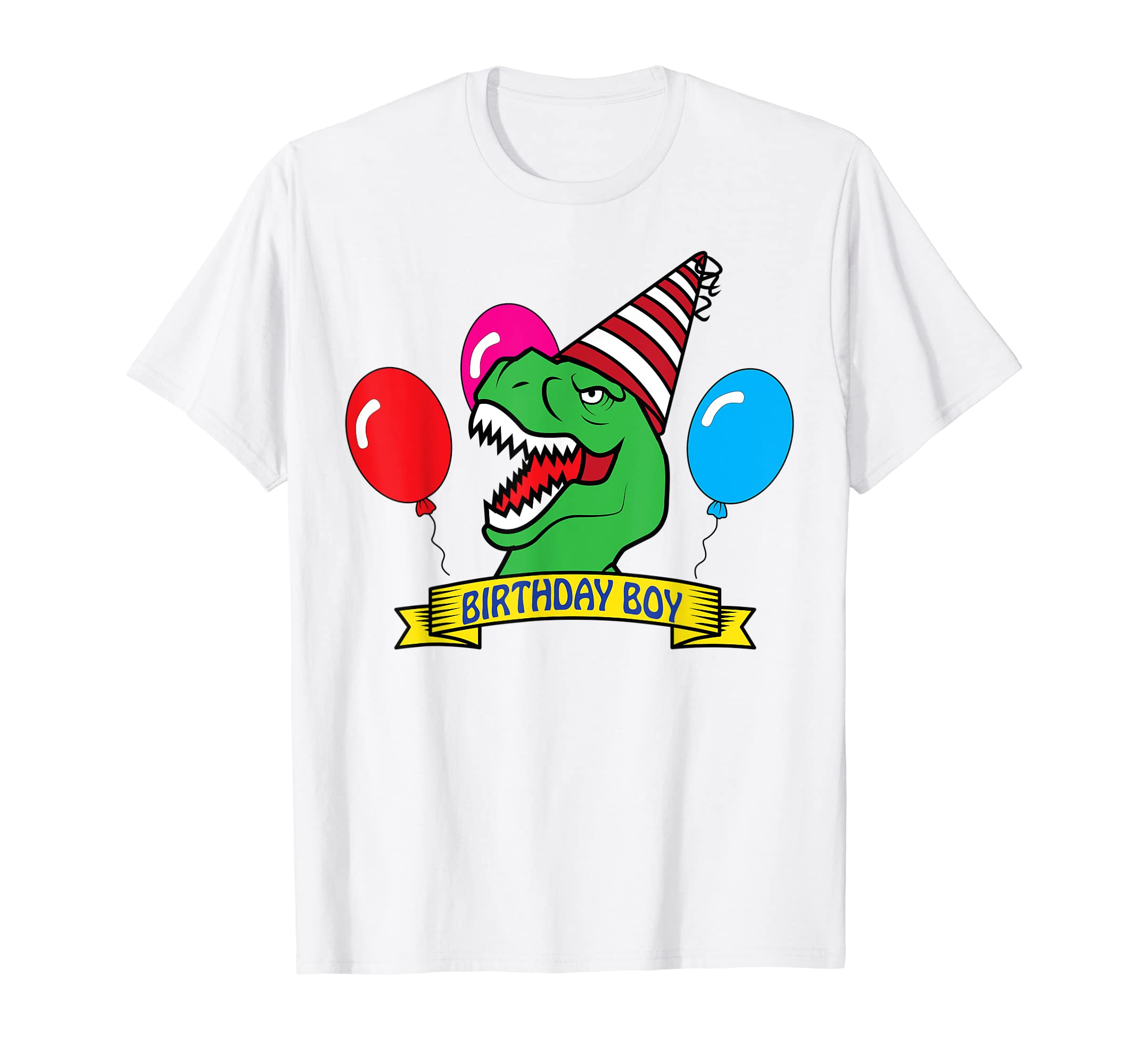 Amazon DINO Birthday Boy T Shirt