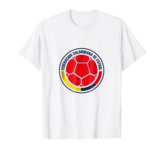 Seleccion Colombia Futbol Mundial Camiseta TShirt Jersey