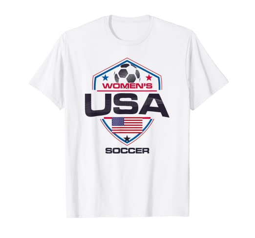71147085ce5 Image Unavailable. Image not available for. Color  Women USA Soccer Team  Shirt