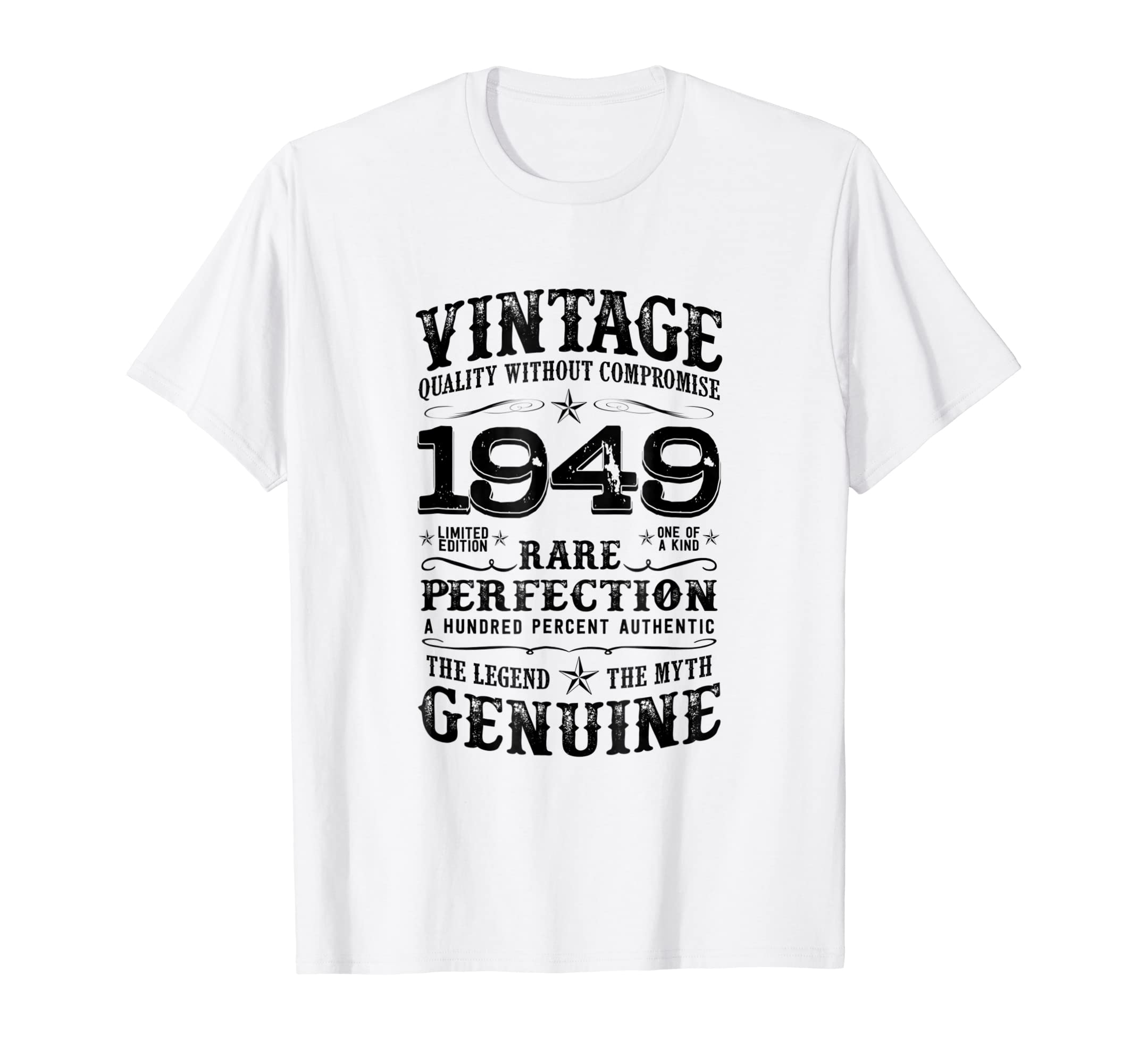 Amazon Mens Born In 1949 70th Birthday T Shirt Gift For 70 Year Old Clothing