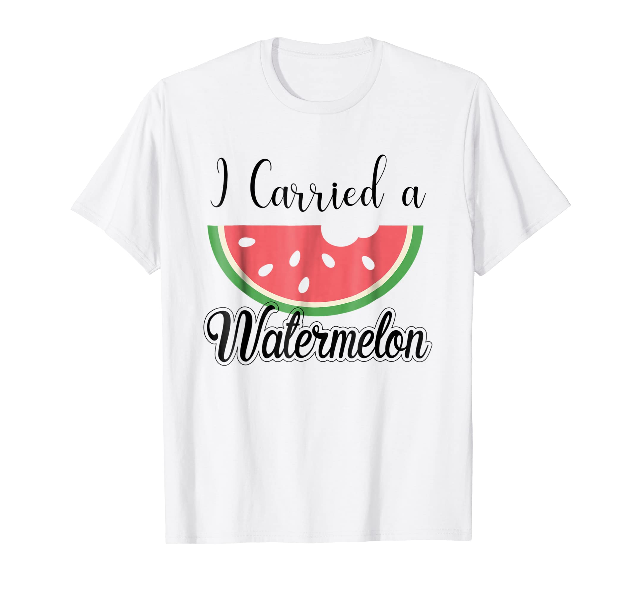 cd6bc03ee Amazon.com: I Carried A Watermelon T Shirt Gifts Mens Womens Festival:  Clothing