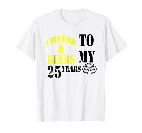 Amazon 25th Birthday Gift Ideas Funny T Shirt For Men And Women