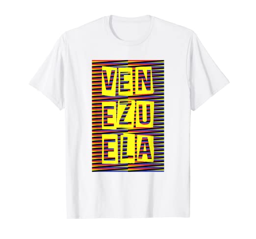 Venezuela Traditional Chromatic Background Art Tee Shirt