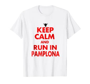 San Fermin And Run In Pamplona Shirt Camisetas de Espana