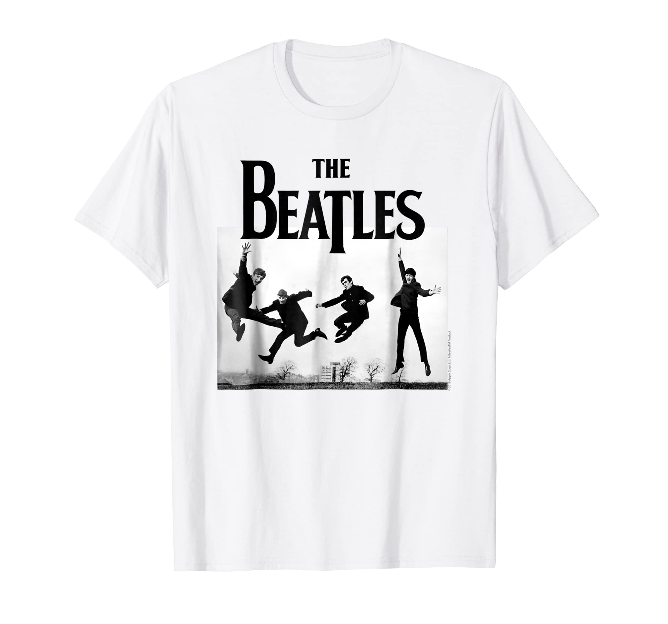 750c44215 The Beatles Jump at Sefton Park T-shirt-Rose – Rosetshirt