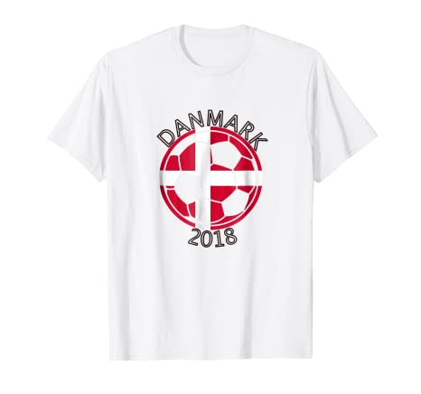 Image Unavailable. Image not available for. Color  Danmark Denmark Danish  Soccer Team 2018 T Shirt Football f2cc856f8