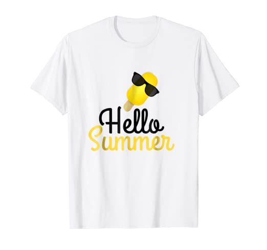 93c944fb789 Image Unavailable. Image not available for. Color  Last Day Of School T Shirt  Hello Summer ...