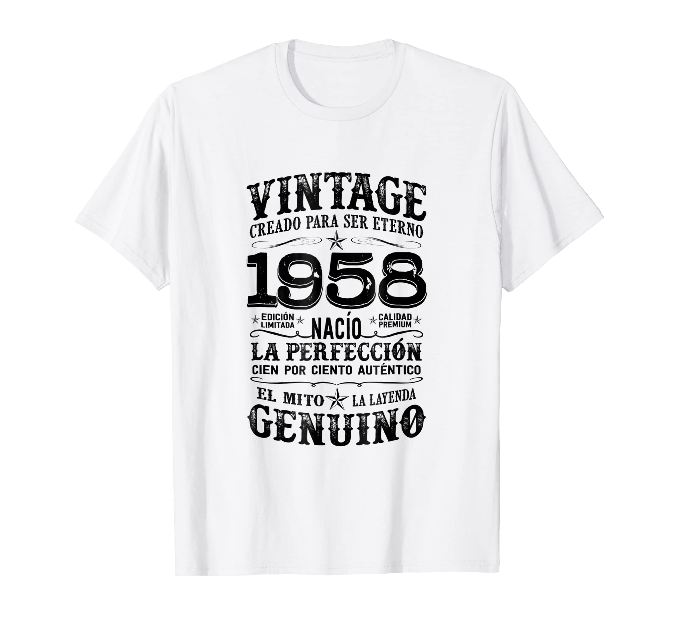 Amazon.com: Mens Born in 1958 61st Birthday Shirt Gift 61 ...