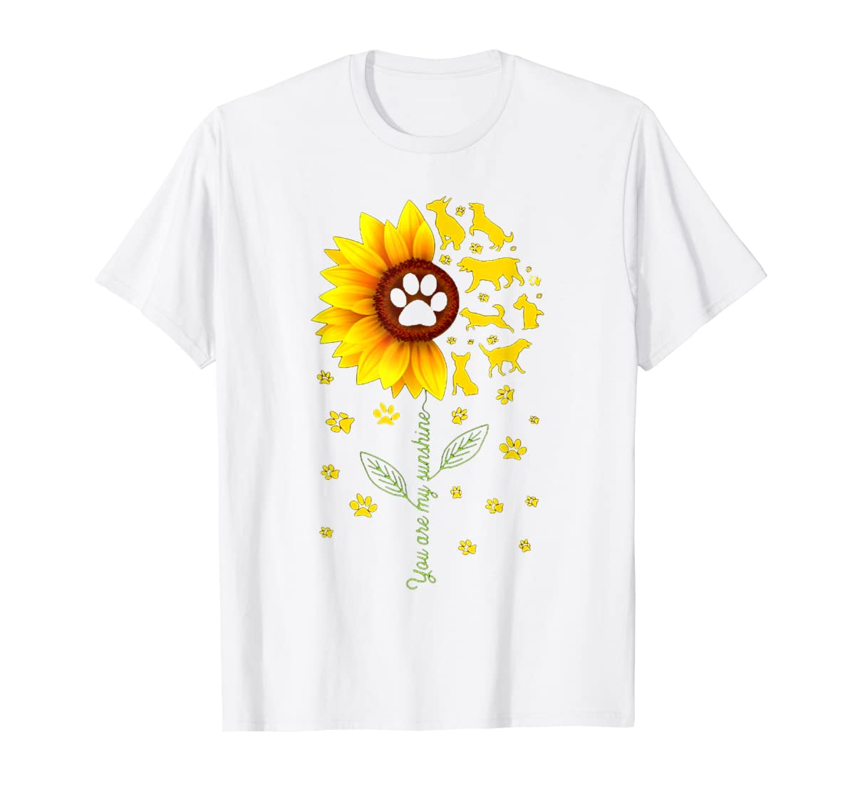 You are my Sunshine t-shirt-Men's T-Shirt-White