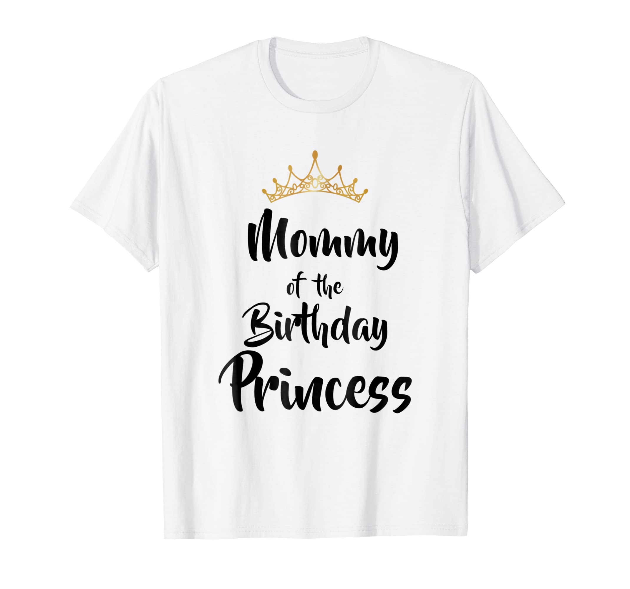 Amazon Mommy Of The Birthday Princess Matching Family T Shirt Clothing