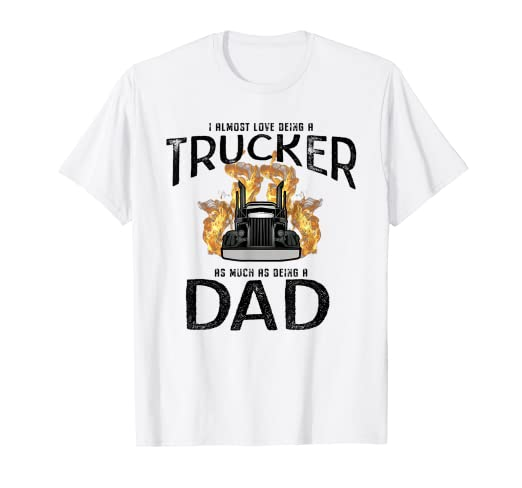 58e239e7 Image Unavailable. Image not available for. Color: Dad Trucker Shirt ...