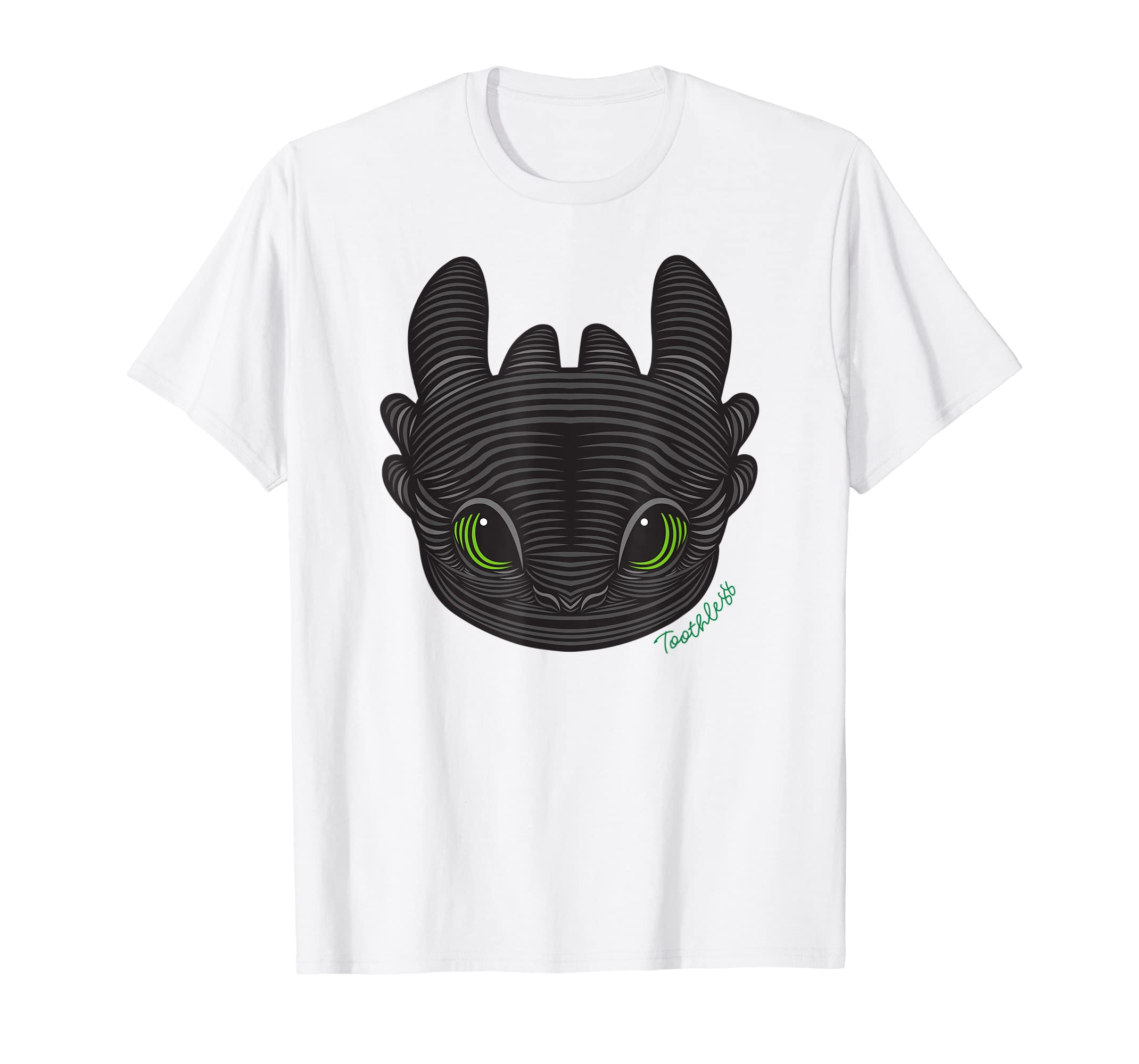 66a8c7a8477 Amazon.com  DreamWorks How to Train Your Dragon 3 Toothless T-shirt   Clothing