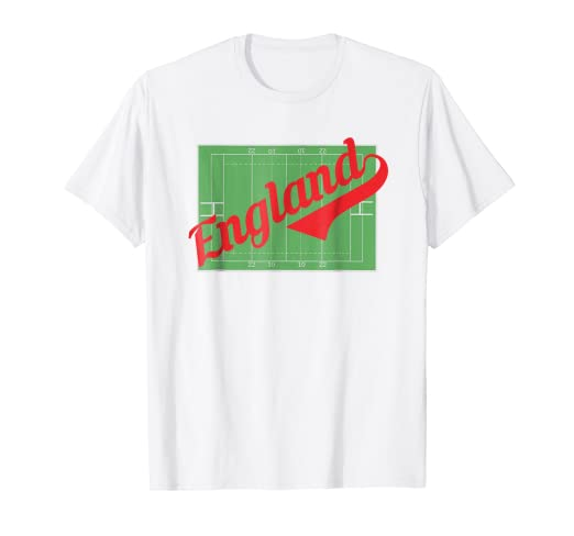 3db3fc54 Amazon.com: Rugby England Jersey English Rose Fan Gift T Shirt: Clothing