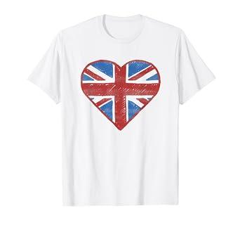 af9d965fa Amazon.com: UK Flag T shirt - British Flag Shirt Women Kids Girls ...