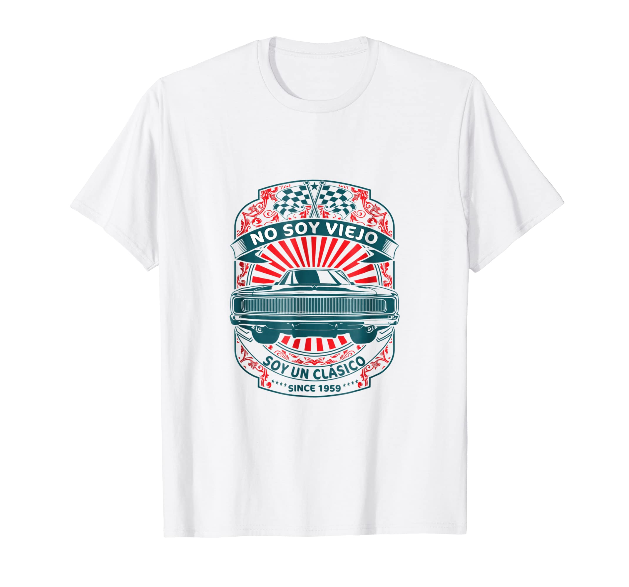 Amazon.com: Camiseta No Soy Viejo Soy Clasico Cumpleanos 60 ...
