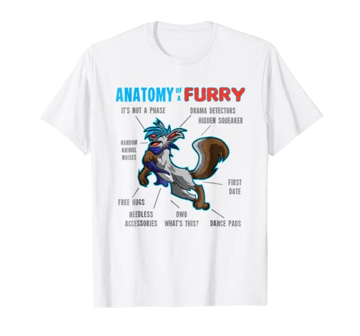Amazon Furry Shirt Anatomy Of A Furry Wolf Fur Shirt Clothing