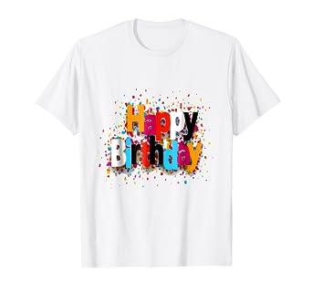 Happy Birthday Dad T Shirt
