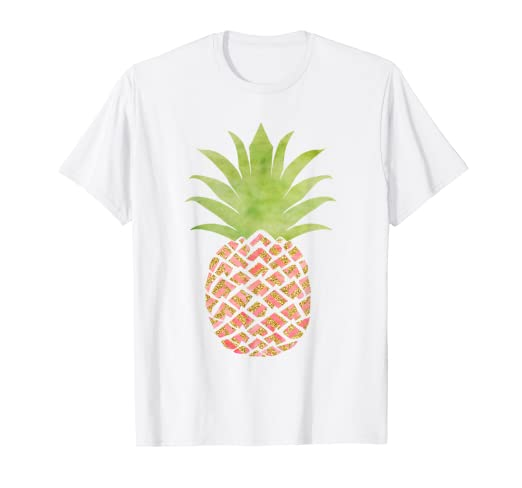 9d5adeb9 Image Unavailable. Image not available for. Color: Pineapple Shirt Women ...
