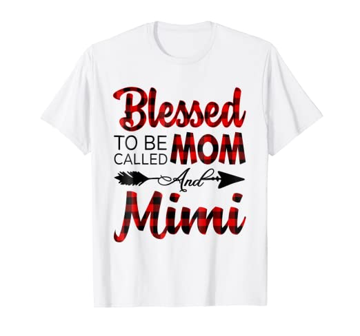 d3c950d9 Image Unavailable. Image not available for. Color: Blessed To Be Called Mom  And Mimi Shirt ...