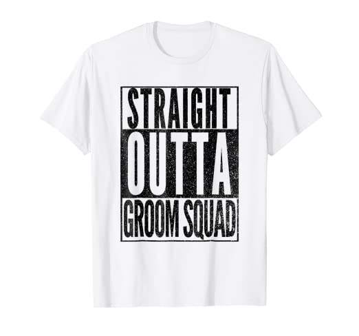 097d13d9 Image Unavailable. Image not available for. Color: Mens FUNNY GROOMSMEN  SHIRT Groom Squad Bachelor Party ...