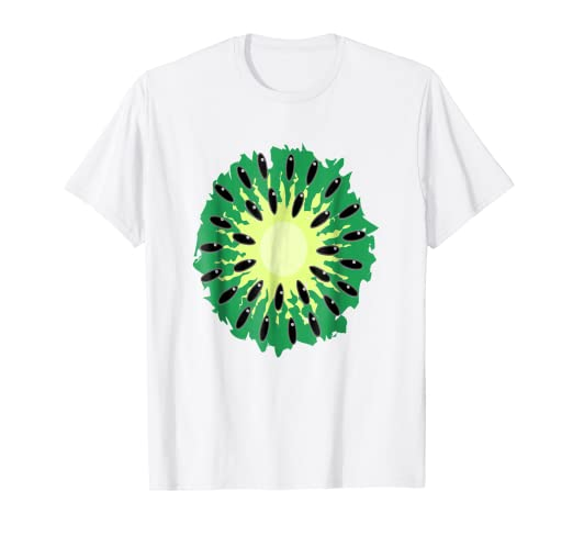 566e6d71a551d5 Image Unavailable. Image not available for. Color: Kiwi Costume T-Shirt  Easy Halloween fruit Costume