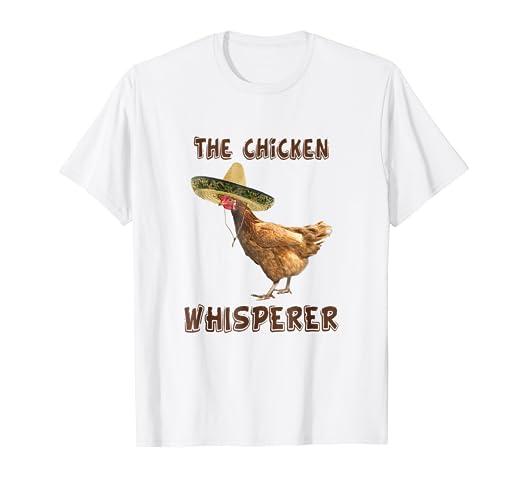 ea6d8f6ef Amazon.com: The Chicken Whisperer shirt / Funny Farmer Shirt: Clothing