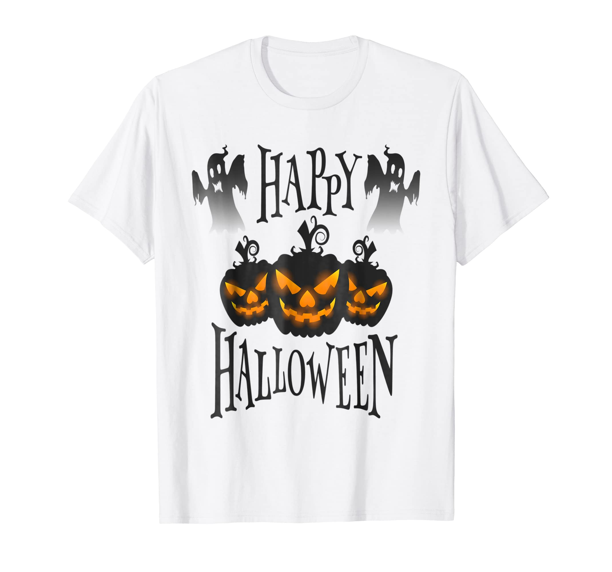 Amazon Happy Halloween T Shirt Funny Gift For Dad Mom Family 2018 Clothing