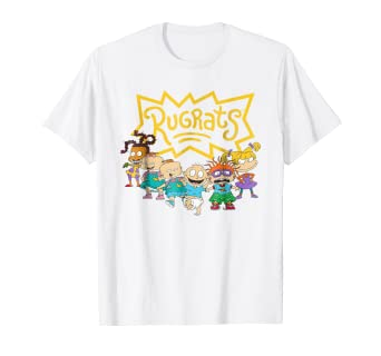 60724716be7a Amazon.com: Nickelodeon Rugrats Character Lineup T-Shirt: Clothing
