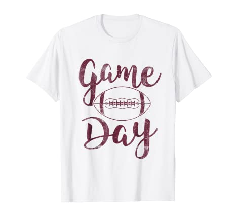 cbd43534f5e2 Image Unavailable. Image not available for. Color  Game Day Football T-Shirt  ...