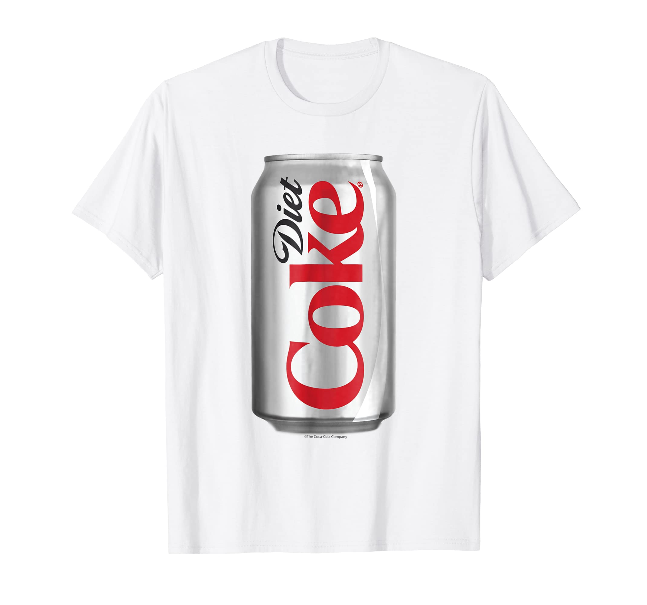 359eb533 Amazon.com: Coca-Cola Diet Coke Can Graphic T-Shirt: Clothing