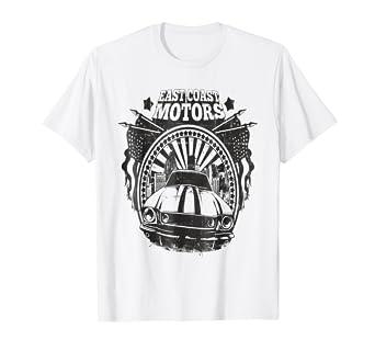 East Coast Motors >> Amazon Com T Shirt East Coast Motors Clothing
