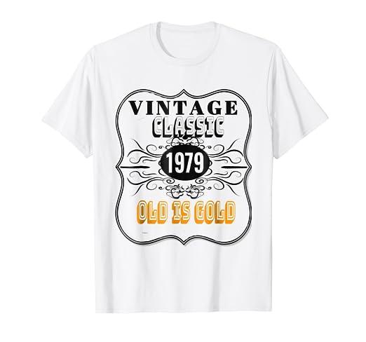 1979 Classic Vintage Tee 40th Birthday T Shirt Men Women