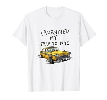 Amazon.com  I survived my trip to NYC tshirt  Clothing dfea1ffb5b7