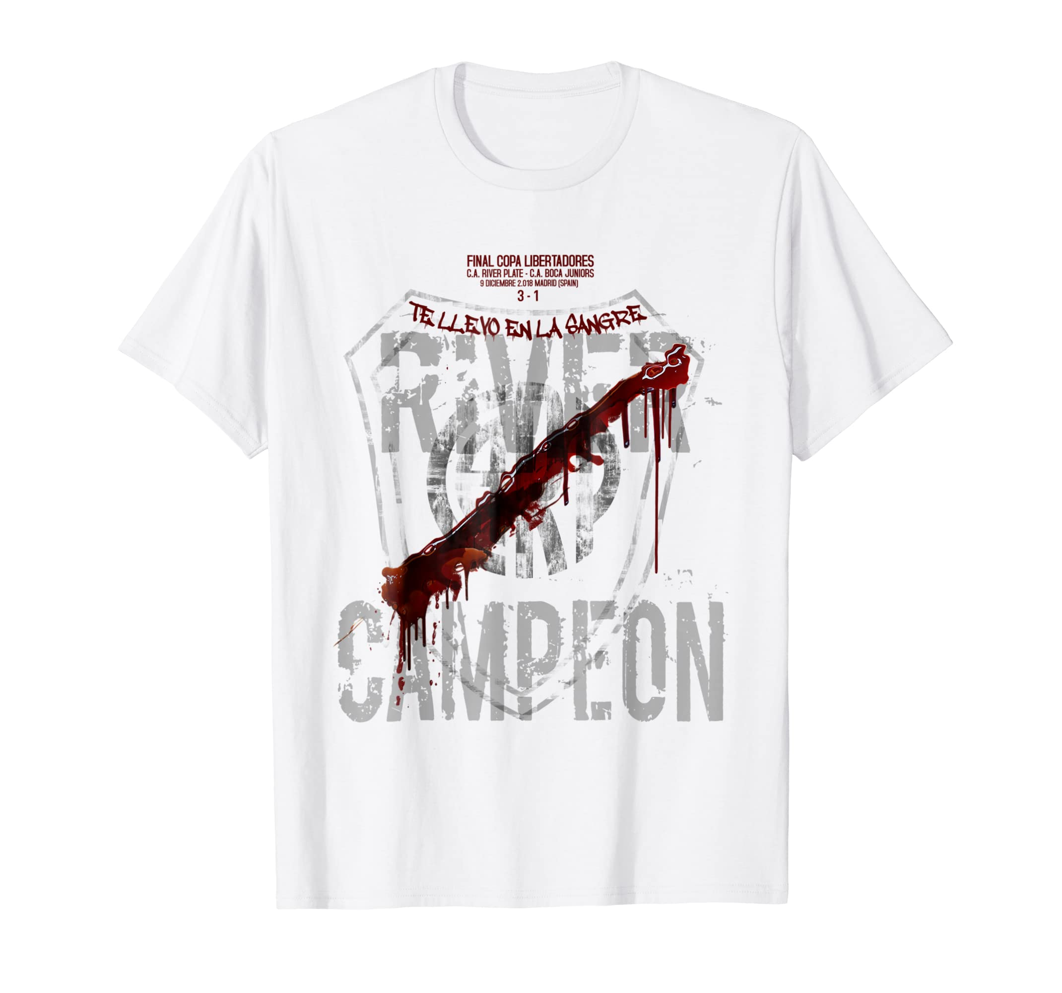 Amazon.com: River Plate camiseta champion Libertadores soccer fan tshirt: Clothing