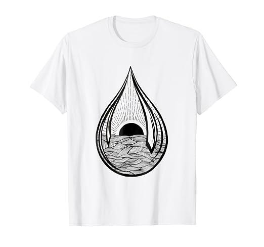 Amazon com: Black sun Teardrop | Ocean waves | Tattoo style
