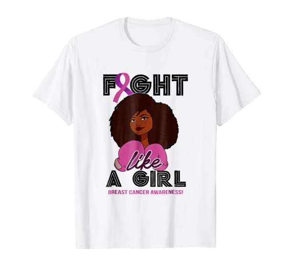Brown fight like a girl breast cancer shirt pics 768