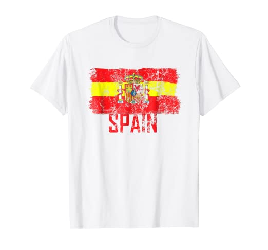 Amazon.com: Spain Shirt Jersey Soccer Espana Futbol Men Women Kids ...
