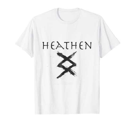 Amazon Inguz Viking Rune Heathen T Shirt Clothing