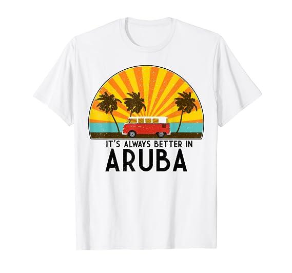 41a06bb881 Amazon.com: Aruba Souvenir T-Shirt - Aruba Gift T-Shirt: Clothing