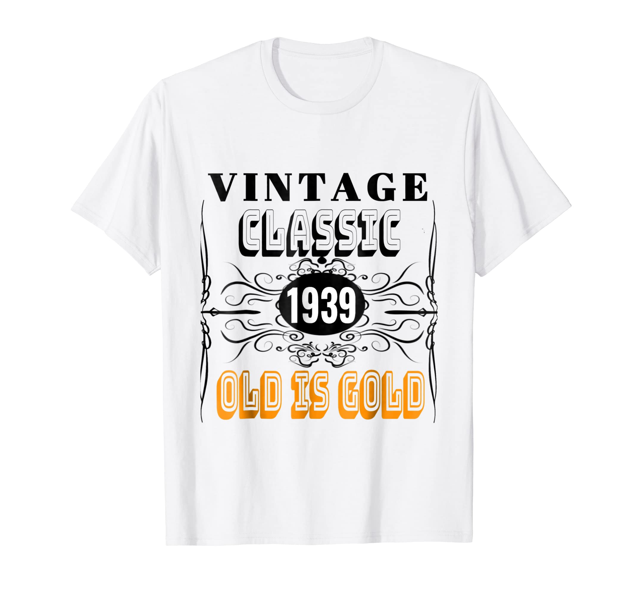 Amazon 1939 Classic Vintage Tee 80th Birthday T Shirt Men Women Clothing