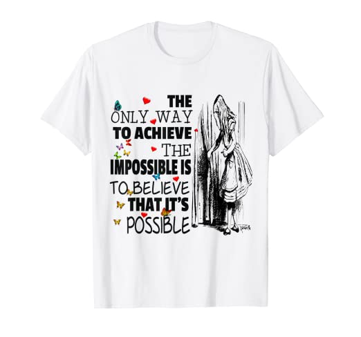 36d02ead7 Image Unavailable. Image not available for. Color: ALICE IN WONDERLAND T- SHIRT ...