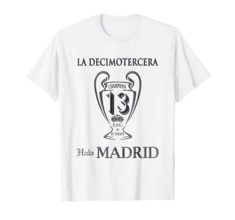Hala Madrid 2018 , La Decimotercera T-SHIRT