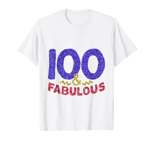 Amazon 100th Birthday Shirt Women Gift Funny 100 Year Old